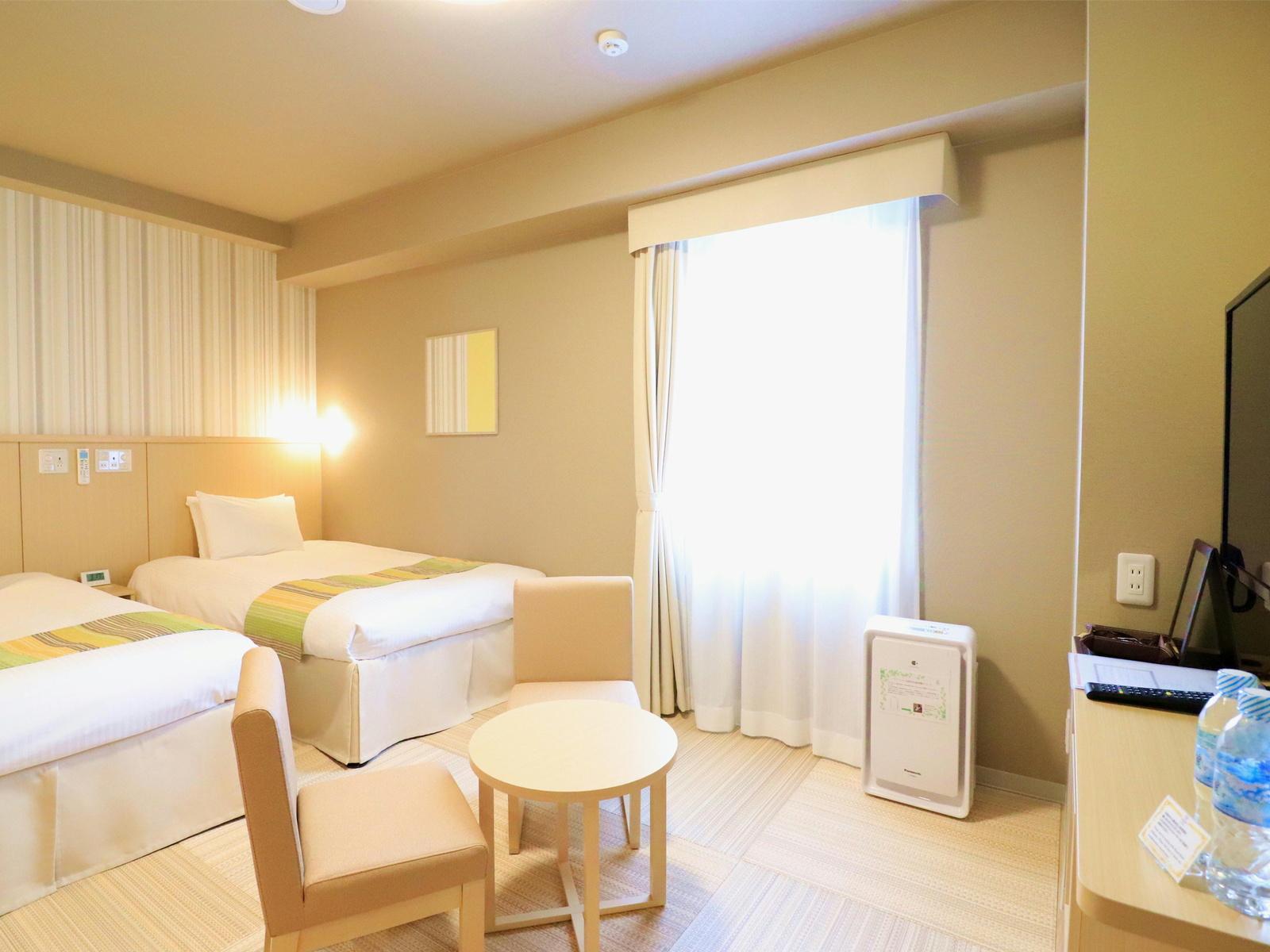 日和ホテル舞浜 / ツインルーム2~3名■禁煙 22平米【お子様も安心♪床材畳使用】