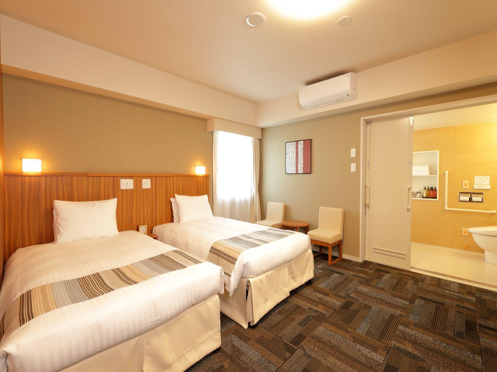 日和ホテル舞浜 / デラックスツインルーム 30平米 ■禁煙 【バリアフリー対応】