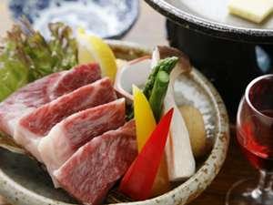 虎杖浜温泉 ホテルいずみ / 【A5等級白老牛/お食事処】最高ランクのじゅわ~っと肉汁!<白老牛ステーキ付♪>