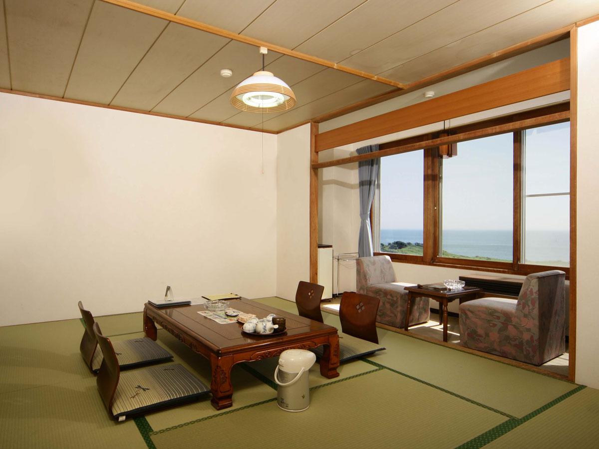 虎杖浜温泉 ホテルいずみ 海側・和室10畳