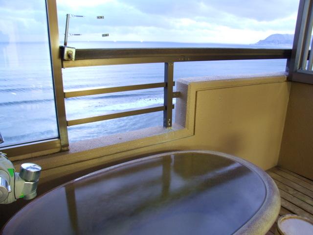 平成館しおさい亭 / 本館露天風呂付客室(海の見える部屋)
