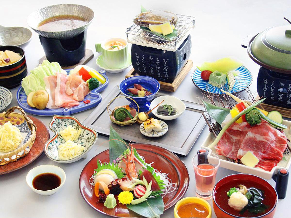 ホテル亀屋 / ◆温泉が魅力♪《季節の会席膳》1泊2食付プラン