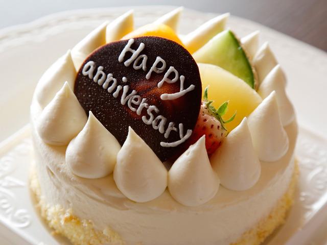 湯山荘 阿讃琴南 【いつもの記念日】アニバーサリーケーキ&ブーケに感謝の気持ちを添えて