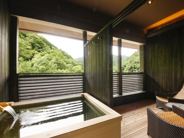 湯山荘 阿讃琴南 専有露天風呂付和洋室 Type D