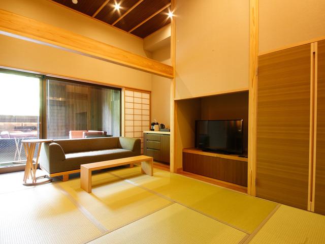 湯山荘 阿讃琴南 専有露天風呂付和洋室 Type E