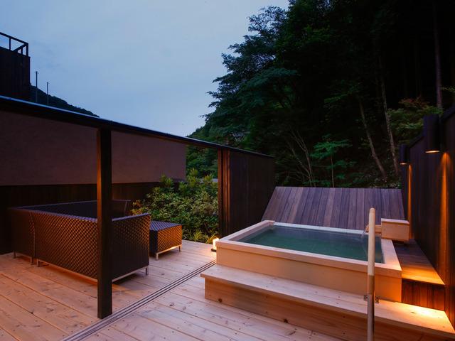 湯山荘 阿讃琴南 専有露天風呂付和洋室 Type F