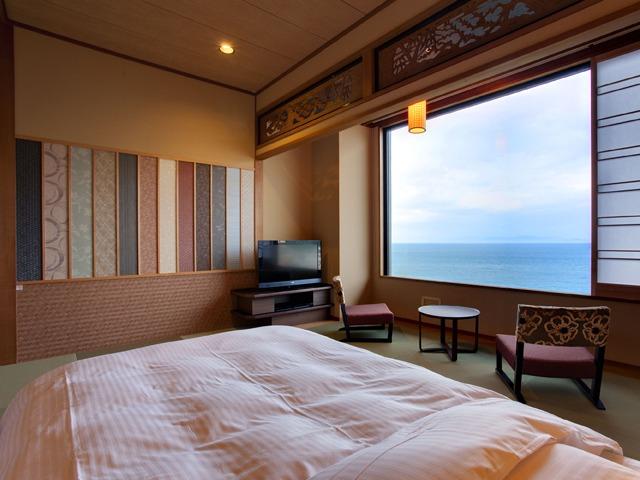 渚の荘 花季 / 海の見える和風ツインルーム(39平米/禁煙)