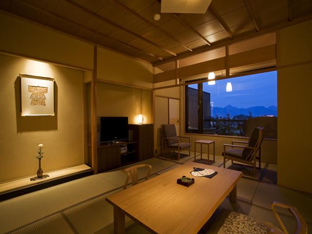 琴平花壇 / 富士見台/専有露天風呂付和室(禁煙)56平米 [部屋食可]