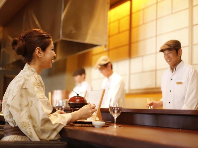 ホテルニューアワジ プラザ淡路島 あなたの好みで選ぶ「島会席 at シェフズテーブル」<旬房 海楽-KARAKU->