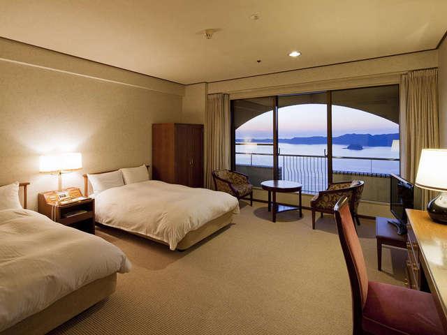 ホテルニューアワジ プラザ淡路島 / スタンダード洋室(34平米・鳴門海峡ビュー) 【禁煙】