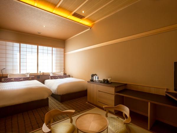 清水小路 坂のホテル京都 / スーペリアツイン(畳リビング) 35平米