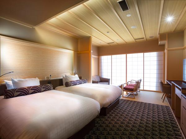 清水小路 坂のホテル京都 / グランデツイン(縁側テラス付) 52平米