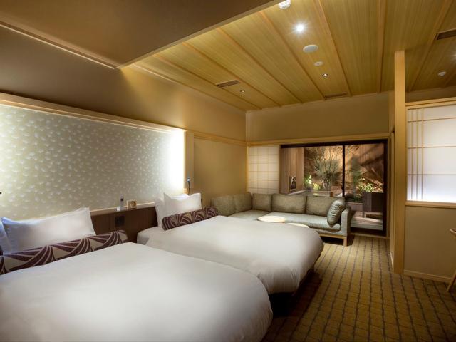 清水小路 坂のホテル京都 / 露天風呂付デラックスツイン 46平米