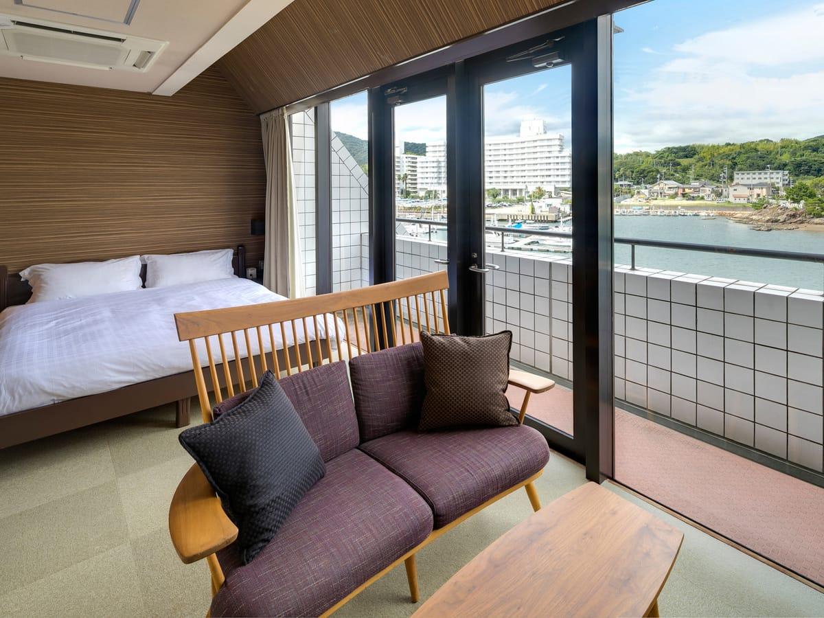 海のホテル 島花 / ハーバーダブル(禁煙)