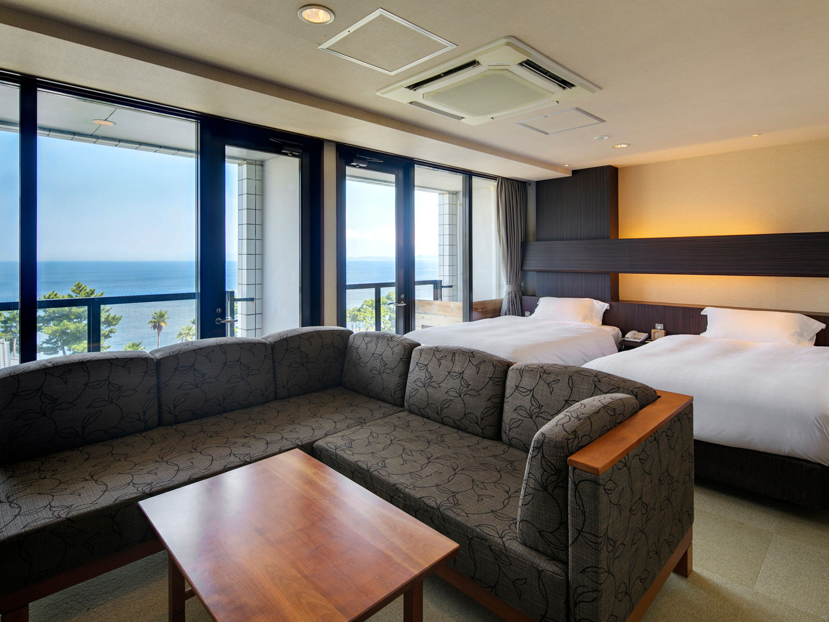 海のホテル 島花 / オーシャンツインB(禁煙)