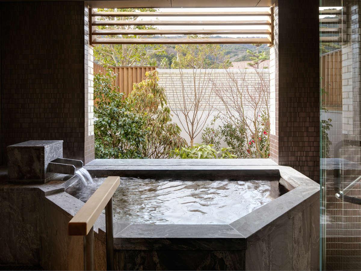 海のホテル島花 レジデンスヴィラ / 【ガーデンヴィラ】専有露天風呂付ツインA 88平米