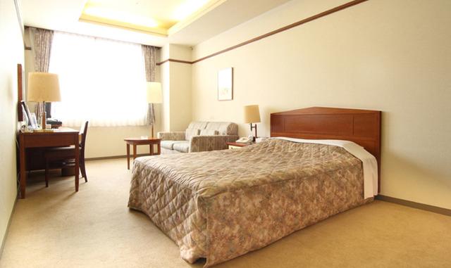 ホテル談露館 / 【喫煙】デラックスダブル★24平米(ベッド幅140cm)
