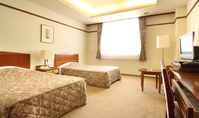 ホテル談露館 / 【喫煙】スタンダードツイン★26平米(ベッド幅120cm)