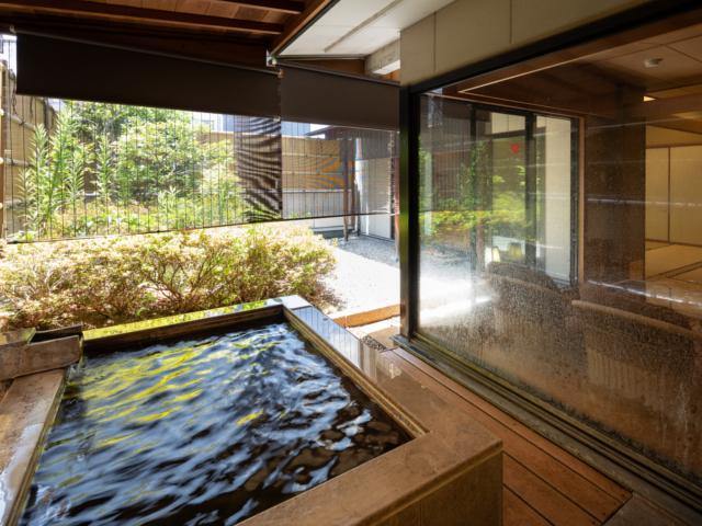 ホテル談露館 / 露天風呂付客室★12畳+6畳+応接室+坪庭