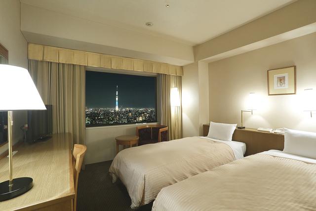 第一ホテル両国 / 【喫煙】【SKYツリー側】モデレートツインA【19.2㎡】