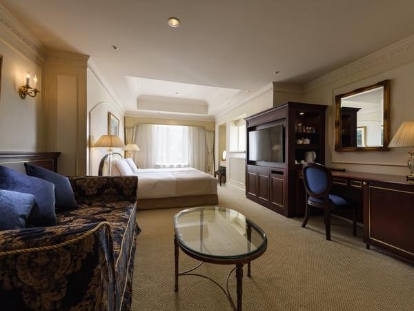 第一ホテル東京 / 【記念日の宿泊に】ビューバスデラックスルームご宿泊♪広めのお部屋でゆっくりカップルプラン/素泊まり