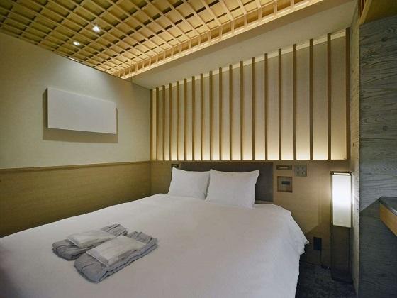 HOTEL HILLARYS 赤坂 / 【10平米・禁煙】スーペリアダブルルーム/140cm幅ベッドx1台/定員1名~2名