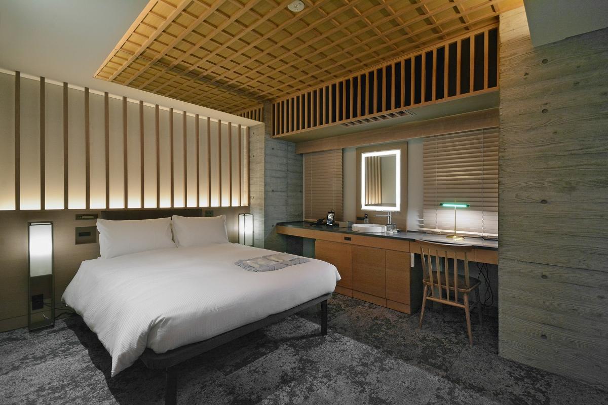 HOTEL HILLARYS 赤坂 / 【18平米・禁煙】ユニバーサルルーム/140cm幅ベッド×1台/定員1~2名