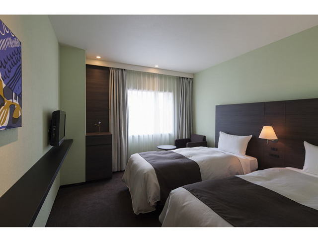 銀座グランドホテル ツインルーム<18平米・禁煙>