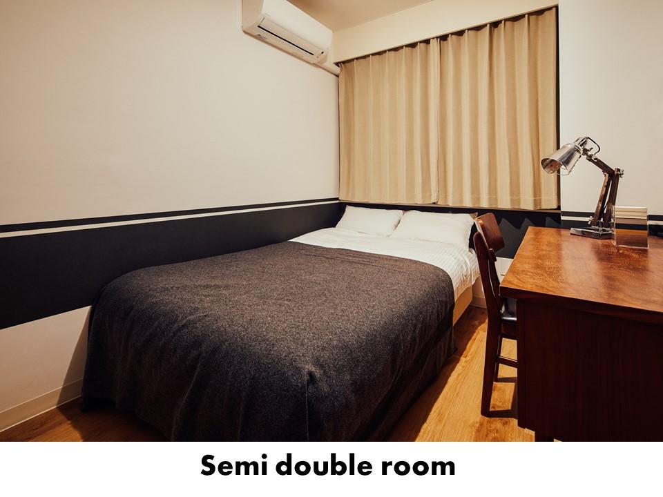 HOTEL GRAPHY NEZU / セミダブルルーム