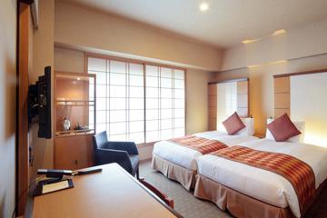 庭のホテル 東京 スーペリア ハリウッドツイン喫煙