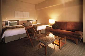 庭のホテル 東京 プレミアムツイン禁煙C