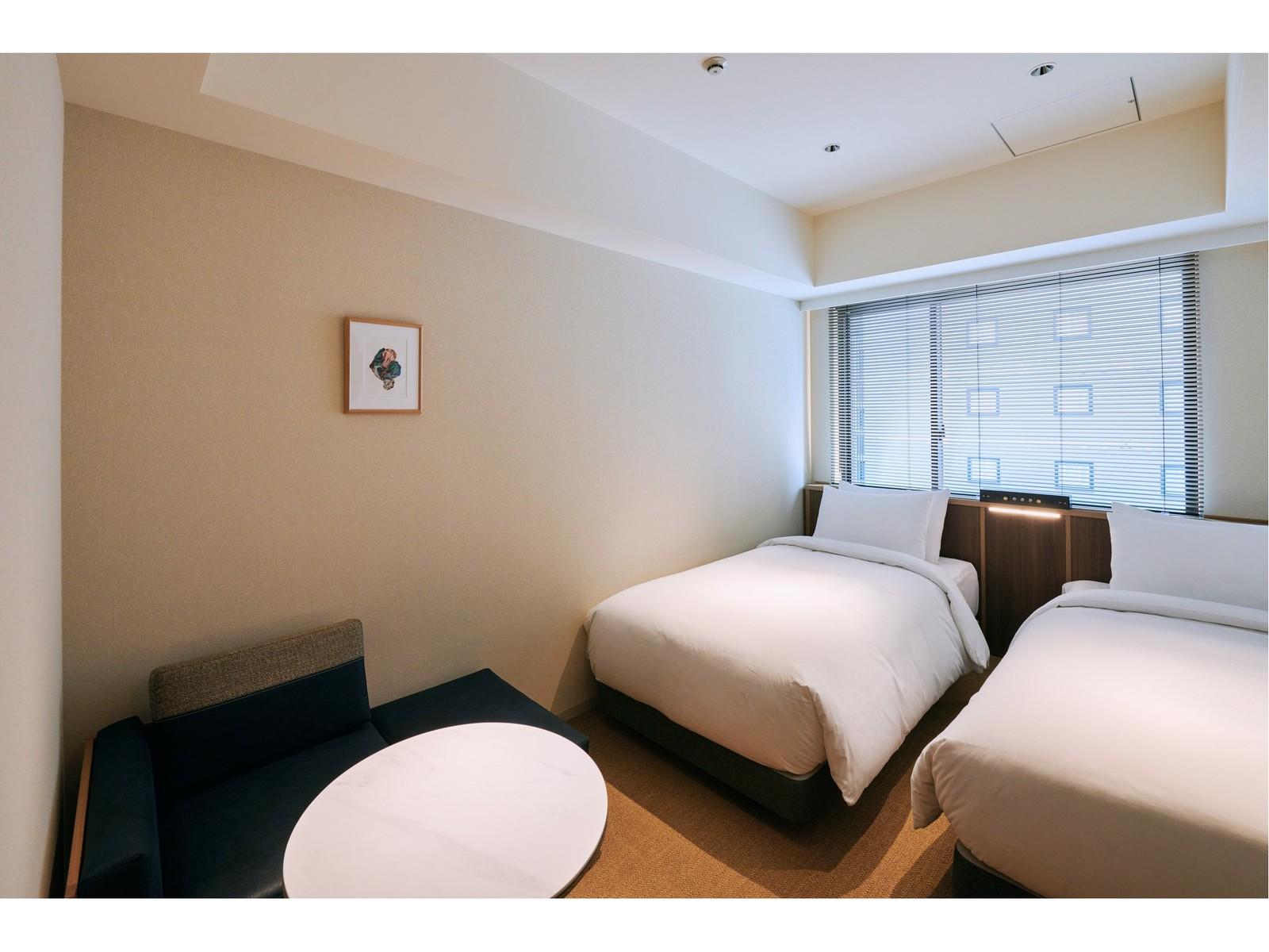 NOHGA HOTEL AKIHABARA TOKYO / ツインルーム(レインシャワーブースのみ)