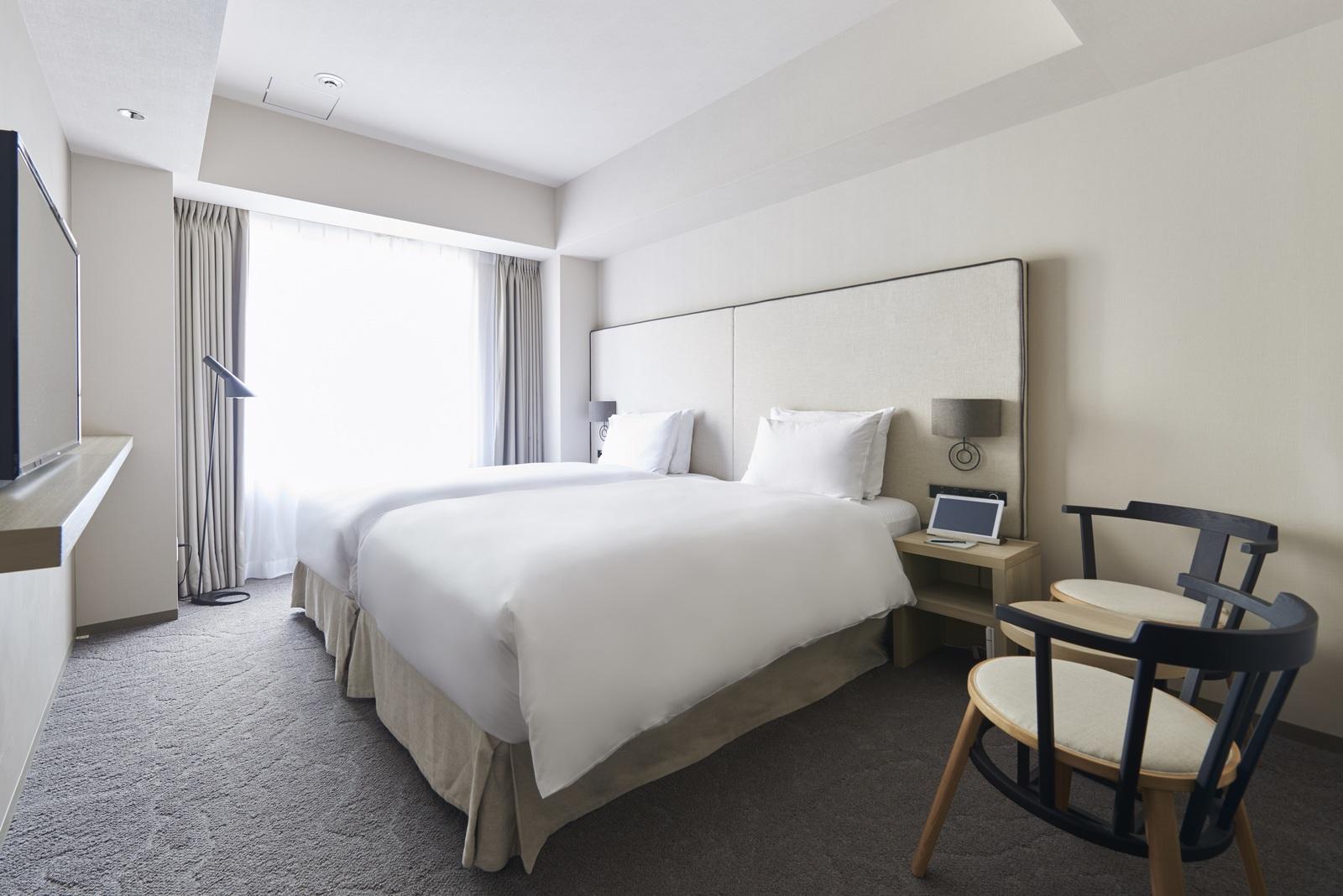 NOHGA HOTEL UENO TOKYO / ツインルーム(レインシャワー付ブースのみ)