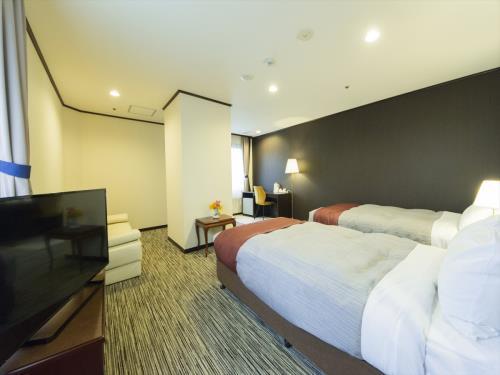 ガーデンホテル紫雲閣 / 禁煙デラックスツインルーム