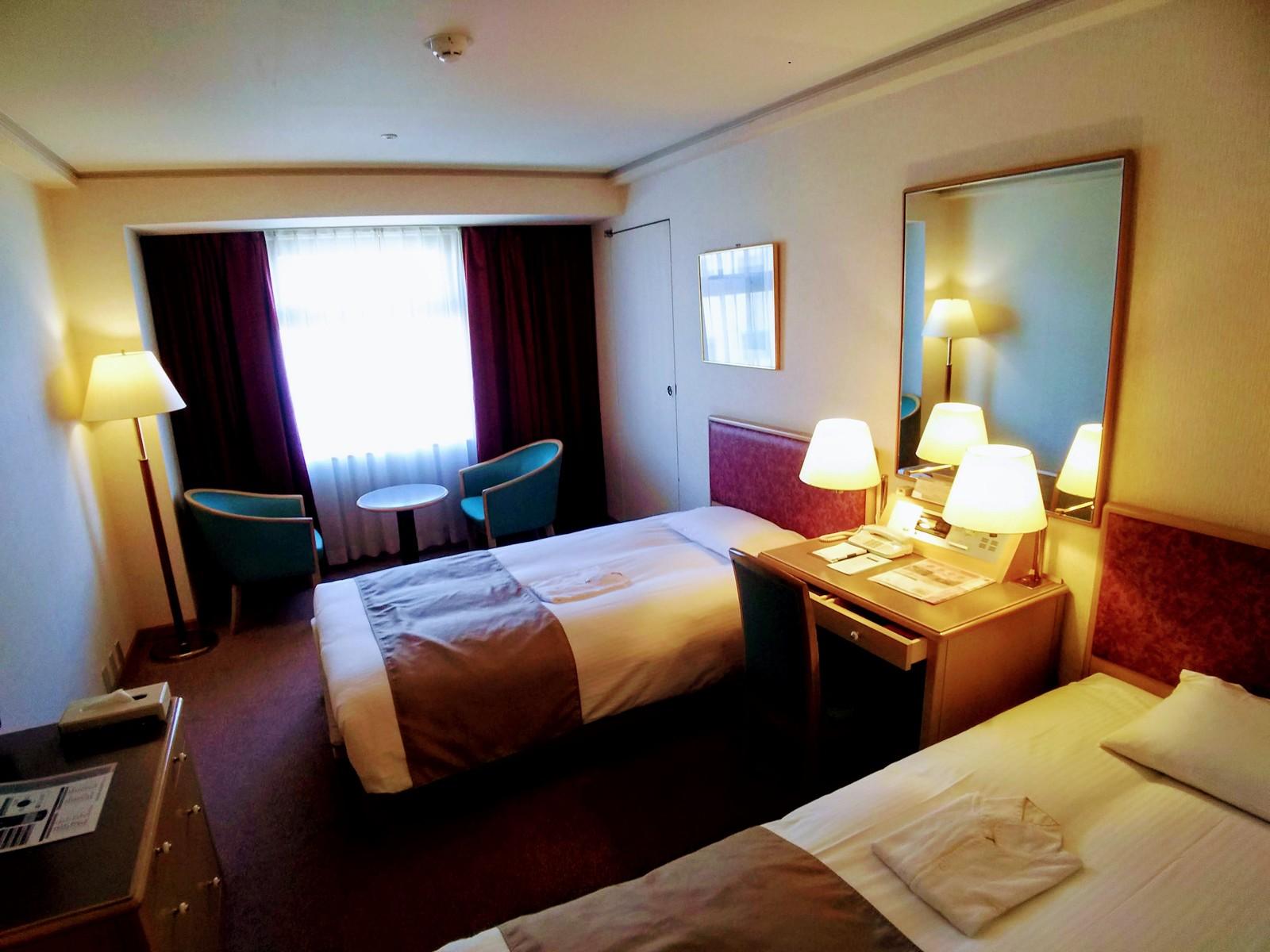 東京グランドホテル / 【喫煙】ツインルーム