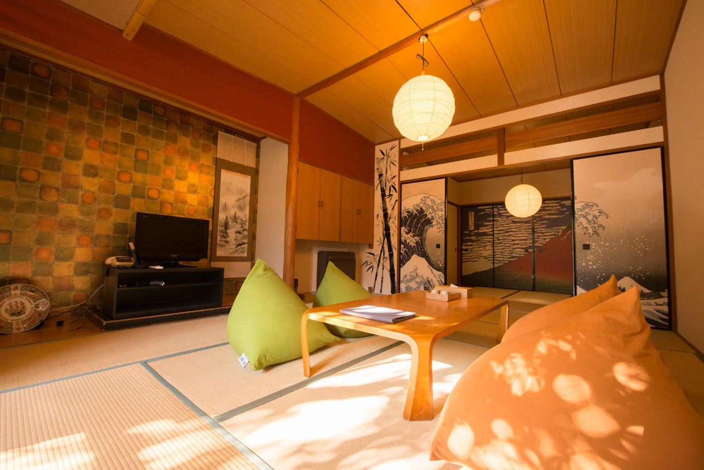 THE RYOKAN TOKYO YUGAWARA / 【ゆったり和室】10畳+4.5畳【wi-fi完備】
