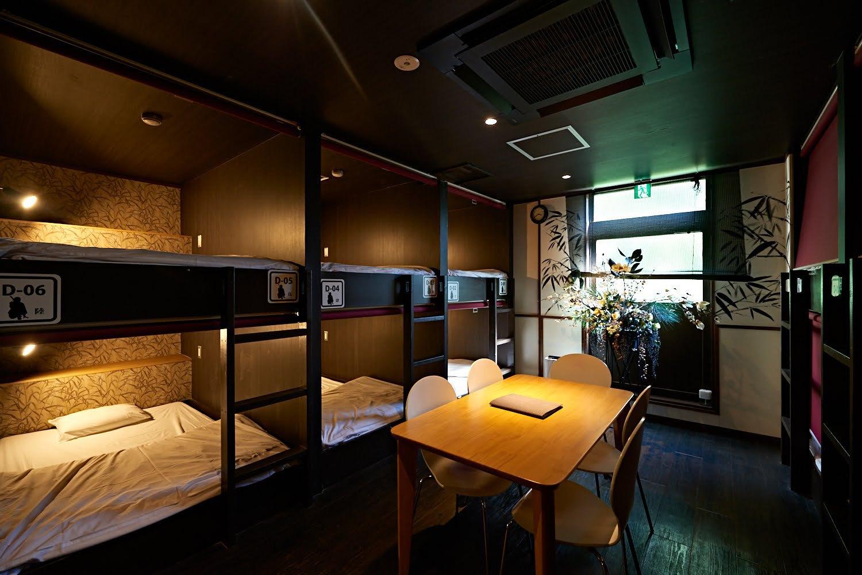 THE RYOKAN TOKYO YUGAWARA / 【相部屋タイプ】男女混同ドミトリーベッド1台<wifi完備>