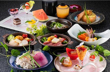 ホテル大雪 / a【スタンダード】「KAMIKAWA 四季の膳」