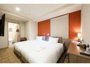 ホテルSUI赤坂 by ABEST / スーペリアツインルーム【全室禁煙】シモンズベッド2台