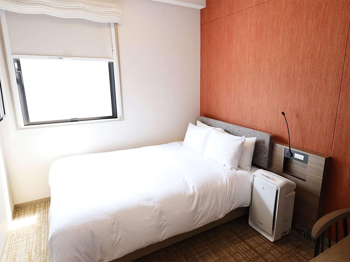 ホテルSUI赤坂 by ABEST / ダブルルーム【全室禁煙】13平米~/140センチ幅シモンズベッド