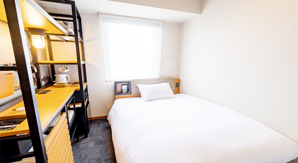 イチホテル浅草橋 / ダブルルーム【禁煙】140cm幅ベッド×1台・11㎡