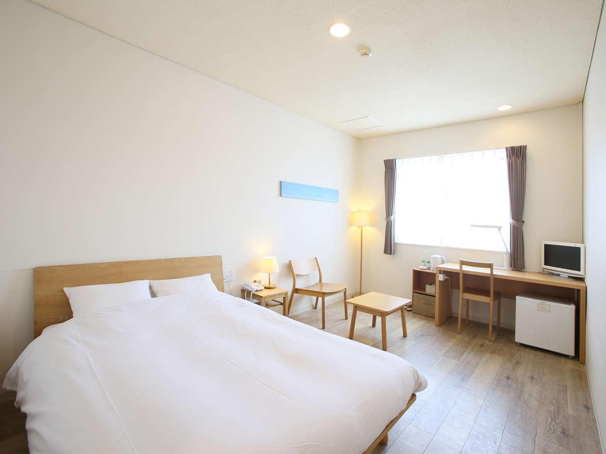 石垣島ホテル ククル / ダブルルーム(17㎡)【禁煙・定員2名】