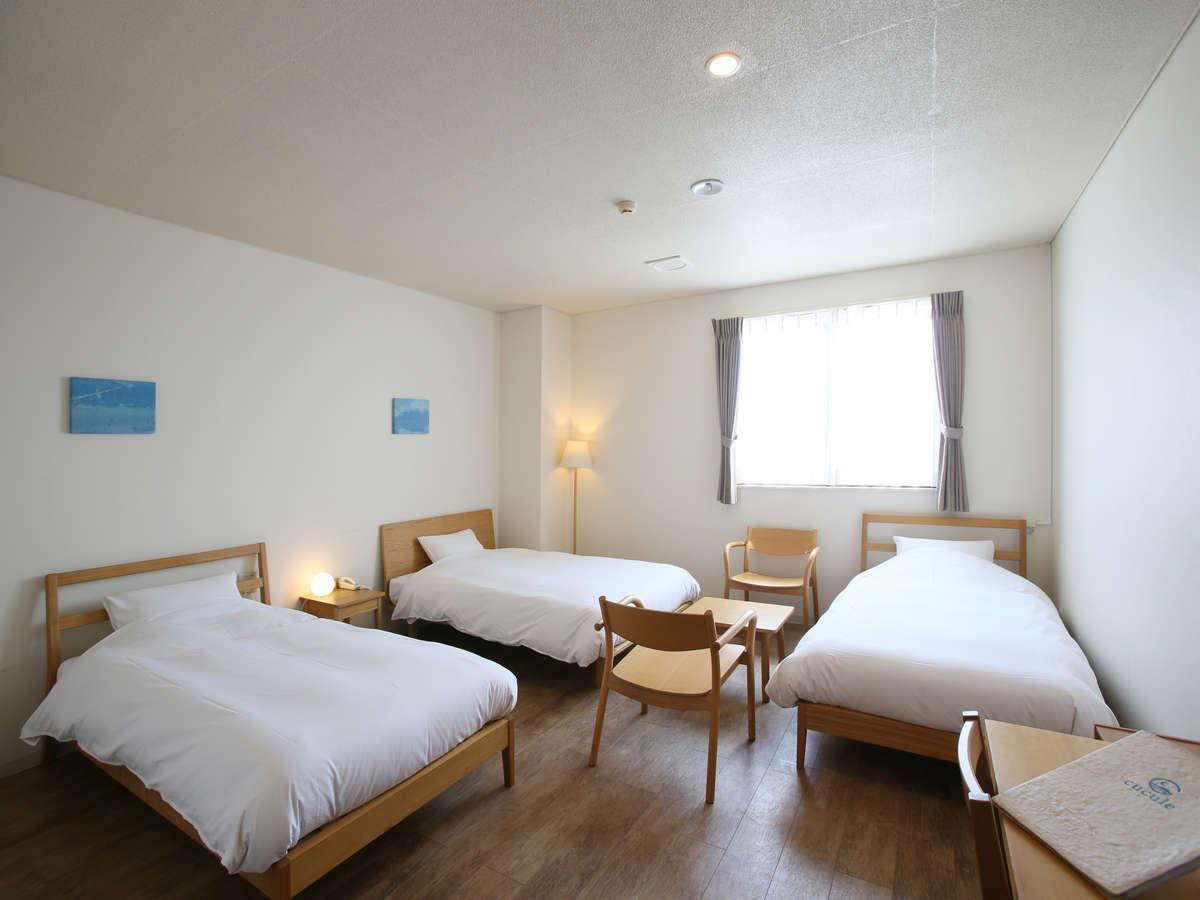 石垣島ホテル ククル / トリプルルーム(26㎡)【禁煙・定員4名】