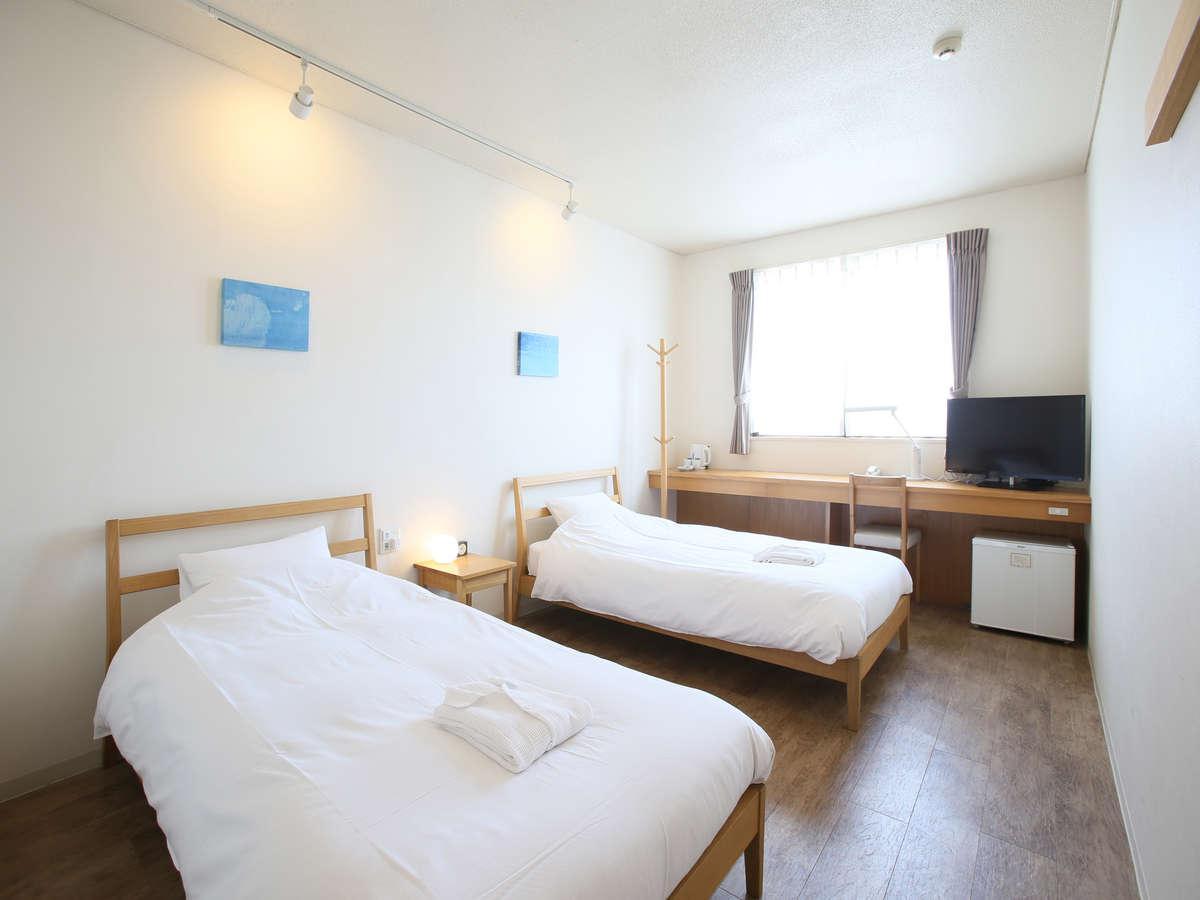 石垣島ホテル ククル / ツインルーム(17㎡)【禁煙・定員2名】