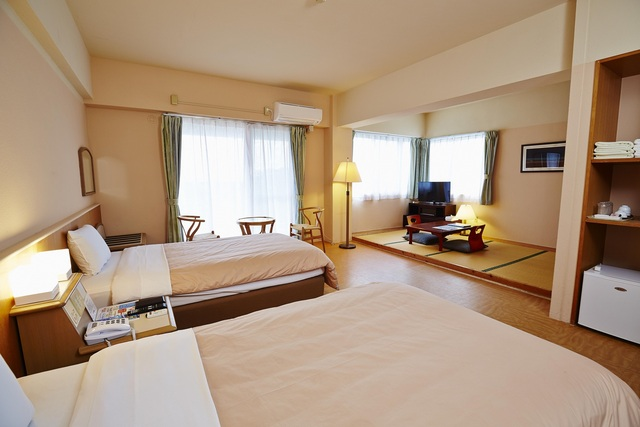 西表島ジャングルホテル パイヌマヤ / 和洋室リゾートルーム 禁煙 バルコニー付き      (5名様までOK)
