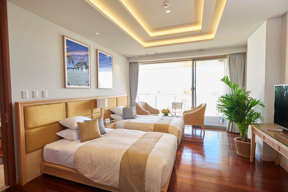 石垣リゾートホテル / 【素泊まり】全室<120平米以上×スイートルーム>南の島のエグゼクティブスイートで大人の休日