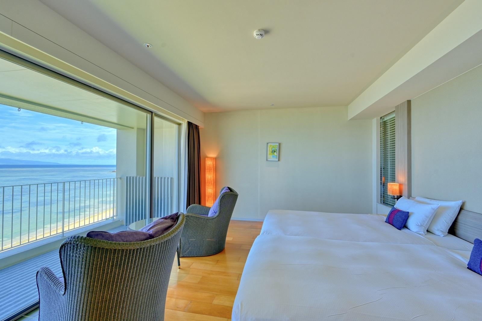 石垣島ビーチホテルサンシャイン / 【新館・禁煙】Ocean Garden ビューバスコンフォート3-4階(40㎡)