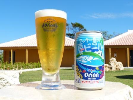 ホテルピースアイランド竹富島 / 竹富の星空を眺めながら...グヴぃっと1杯、オリオンビールでホロ酔いプラン~♪
