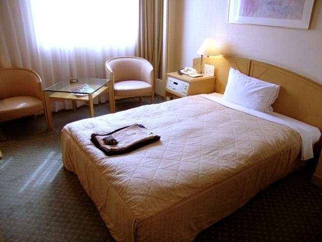ジャスマックプラザホテル / [本館]セミダブル【喫煙】◆22㎡◆セミダブルベット幅140㎝