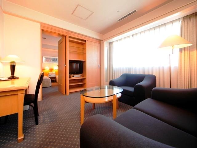 ジャスマックプラザホテル / [本館]DXツイン【喫煙】◆二間◆ベット幅110㎝~サウナ付
